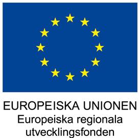 Finansierat av Europeiska regionala utvecklingsfonden